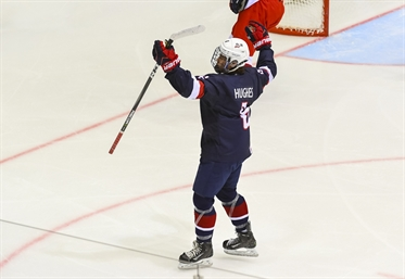 U18 WORLDS: U.S. To Face Finns For Gold - Hughes Line Quashes Czech Hopes In Semi-finals