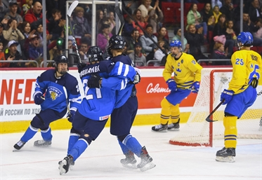 92fa8a504d7 FIN-SWE - 2018 IIHF Ice Hockey U18 World Championship - Chelyabinsk ...